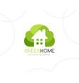 bush house logo template vector image vector image