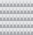 Grayscale seamless pattern geometric vector image vector image