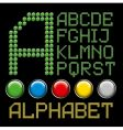 letters alphabet vector image vector image
