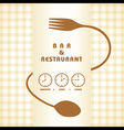 Restaurant menu design stock vector image vector image