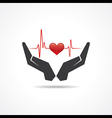 save life concept vector image vector image