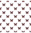 spotted butterfly pattern seamless vector image vector image