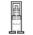 temple of edfu plan ancient egyptian