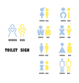 Toilet or restroom logo design