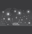 abstract black and gray background bokeh lighting vector image