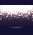 abstract shining background colorful bokeh vector image vector image