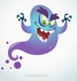 Cartoon flying monster for Halloween vector image vector image