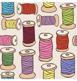 colored threads seamless pattern vector image vector image