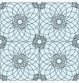 complex guilloche pattern vector image vector image