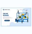 customer loyalty program and rewards concept gift vector image vector image