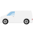 delivery car vector image