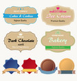 discount sticker set advertising sale banner vector image vector image