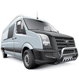 germany commercial vehicle vector image vector image