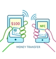 Mobile payment concept vector image vector image