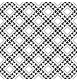 Seamless wallpaper pattern Modern stylish texture vector image