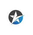 star falcon logo template icons app vector image