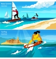 Water Extreme Compositions vector image