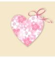 Cute wedding birthday card invitation with vector image