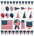 American decorations vector | Price: 3 Credits (USD $3)