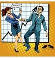 Bingo financial success dance business vector image vector image