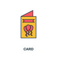 card icon creative 2 colors design fromcard icon vector image vector image