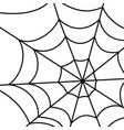 cobweb pattern background vector image vector image