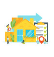 concept for moving home vector image vector image