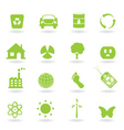 Ecofriendly icon vector | Price: 1 Credit (USD $1)