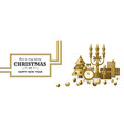 merry christmas background and happy new year vector image vector image