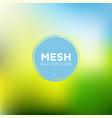mesh background in lime blue color palette vector image vector image