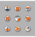 repair icons vector image
