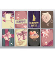 background Happy Day vector image
