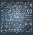 Big collection of chalkboard elements