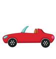 cabriolet icon cartoon style vector image vector image