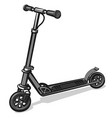 electrical scooter vector image
