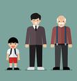 generation men vector image