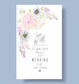 Peony anemone save the date