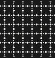 polka dot seamless pattern texture vector image vector image