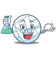 professor volley ball character cartoon