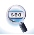 Search engine optimization concept vector image