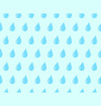 water drop pattern seamless vector image