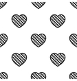 Oktoberfest heart icon in black style isolated on vector image