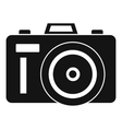 Photocamera icon simple style vector image vector image