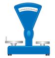 Shop scales vector image
