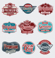Vintage label set vector | Price: 1 Credit (USD $1)