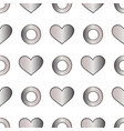 abstract silver seamless pattern for vector image vector image
