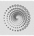 Abstract technology circles vector image vector image