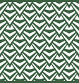 art abstract geometric light white green pattern vector image vector image