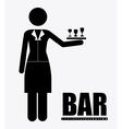 bar desing vector image