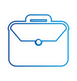 business briefcase document travel professional vector image vector image